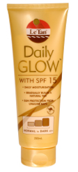 daily glow le tan