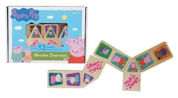 Peppa Pig Wooden Dominoes