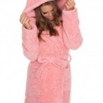 Bras N Things Frosty Fox Cosy Gown – Pink