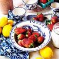 lemony strawberry jam