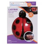 Dreambaby Ladybug Battery Operated Night Light