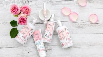 Win One of 5 Evodia Victoria Rose Skin Care Packs