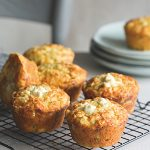 Recipe: Zucchini, Feta and Mint Savoury Muffins