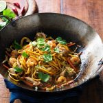 Recipe: Chicken and Prawn Hailam Noodles