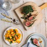 Recipe: BBQ Rack of Lamb with Mango Chilli Lime Salad