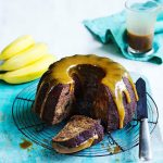 Recipe: Sticky Date and Banana Cake with Salted Butterscotch Sauce