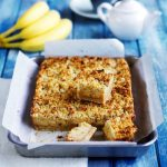 Recipe: Banana Caramel Oat Slice