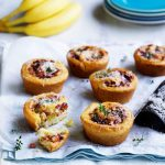 Recipe: Banana, Bacon and Cheese Pinwheels