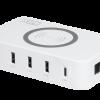HPM USB and Wireless Charging Hub